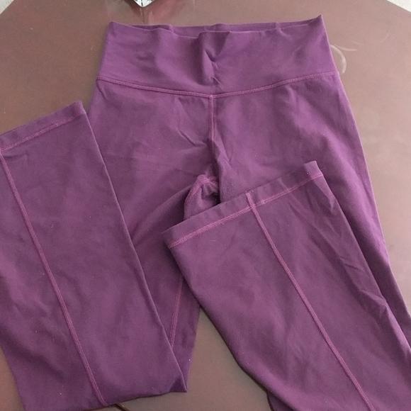 Lululemon leggings (slight flare)